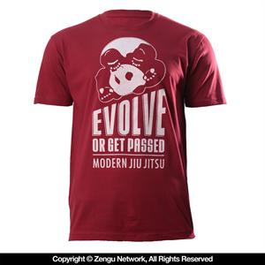 Inverted Gear Evolve T-Shirt - Red
